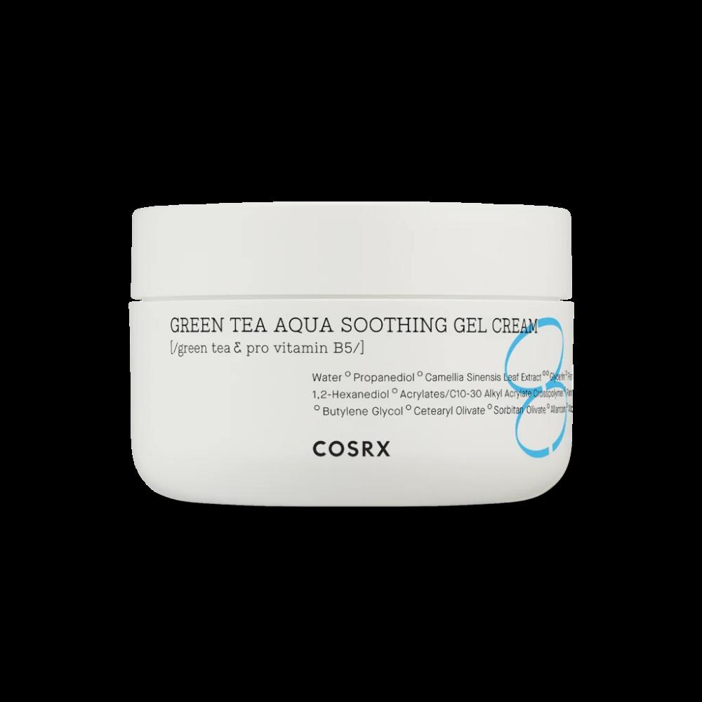 Cosrx - Hydrium Green Tea Aqua Soothing Gel Cream 1