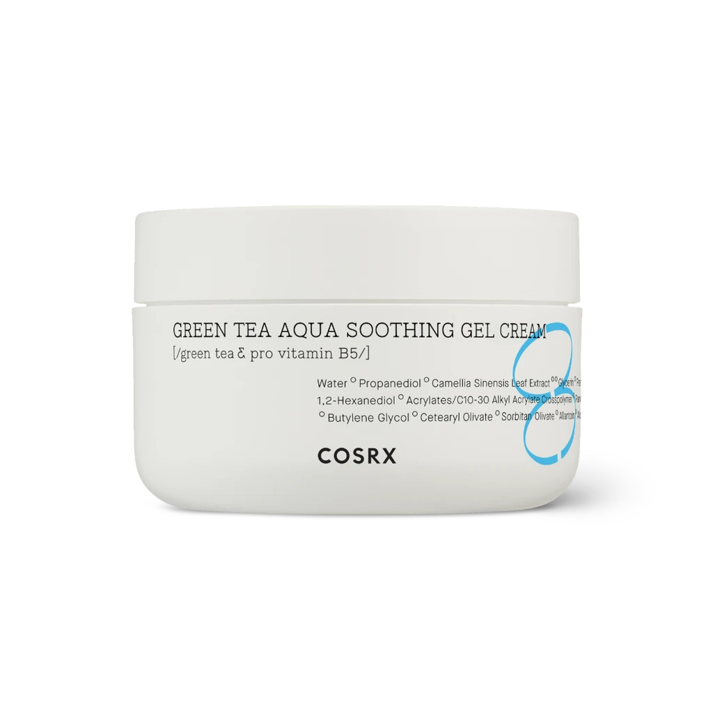 Cosrx - Hydrium Green Tea Aqua Soothing Gel Cream 1