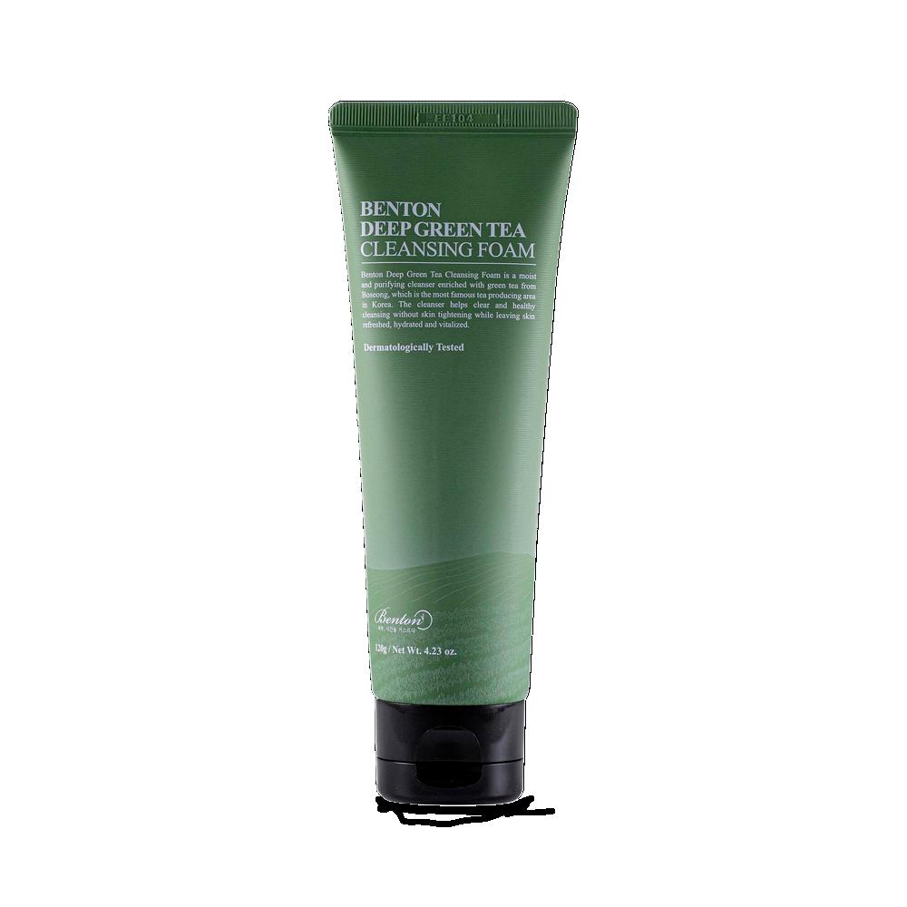 Benton – Deep Green Tea Cleansing Foam k beauty