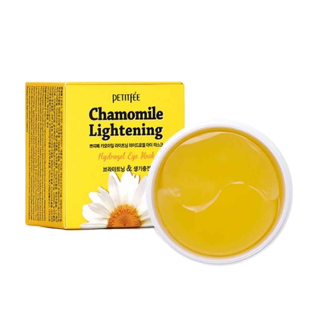 Petitfee - Chamomile Lightening Hydrogel Eye Mask 1