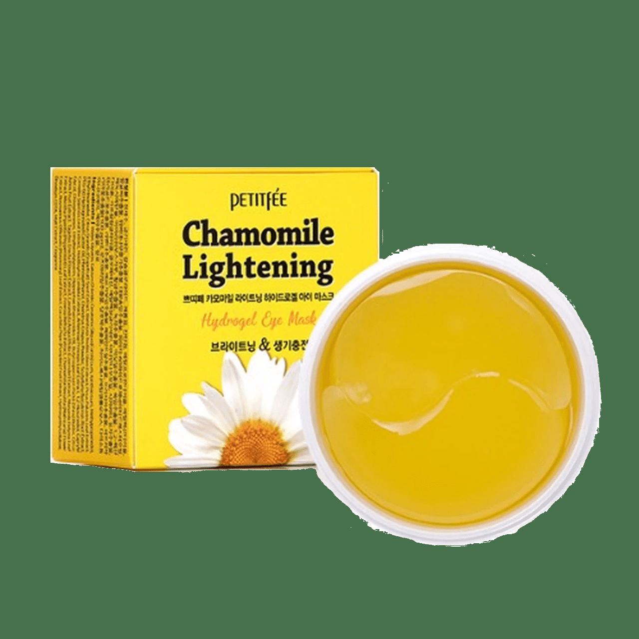 Petitfee - Chamomile Lightening Hydrogel Eye Mask 1