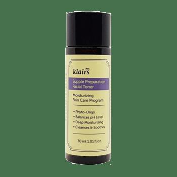 Klairs – Supple Preparation Facial Toner (30 mL) k beauty