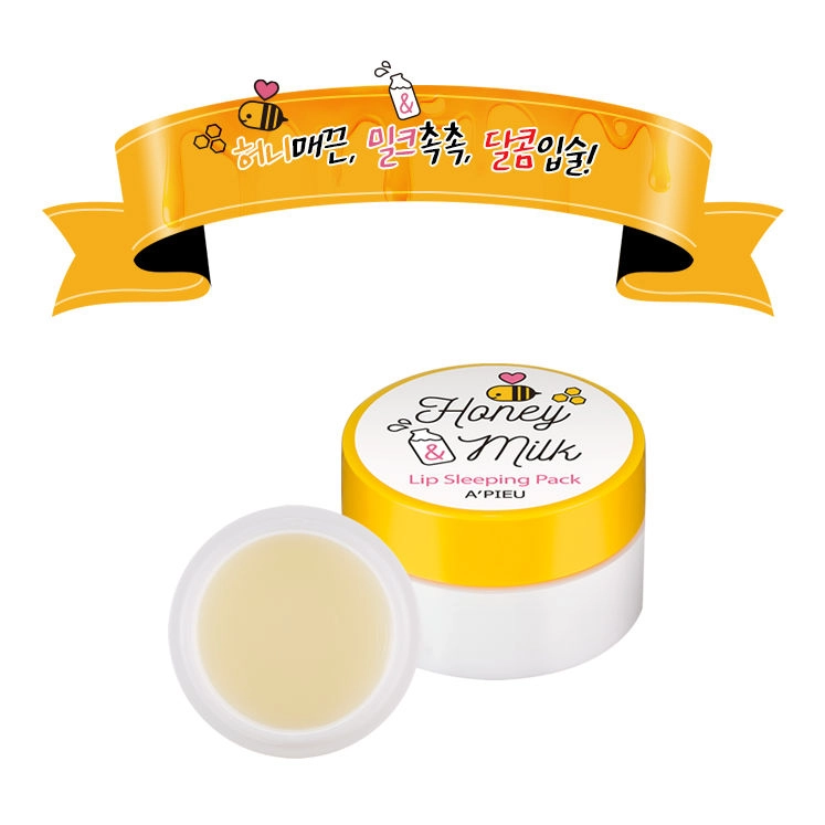 A'pieu - Honey Milk Lip sleeping mask 2