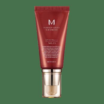 MISSHA – Perfect Cover BB Cream SPF42/Pa+++ (No. 23/Natural Beige) k beauty