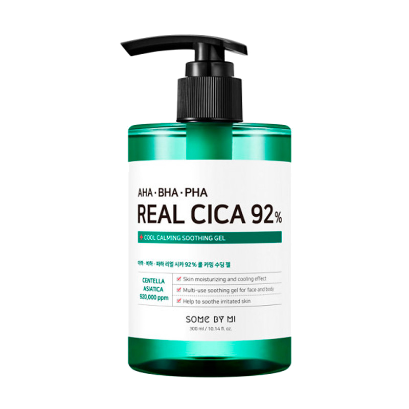 Some By Mi - AHA BHA PHA Real Cica 92% Cool Calming Soothing Gel 1