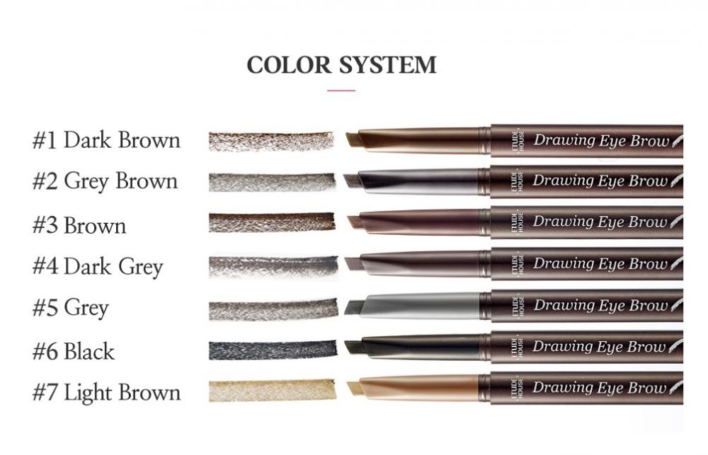Etude House - Drawing Eye Brow (06 Black) 2