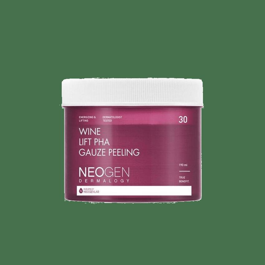 Neogen – Wine Lift PHA Gauze Peeling k beauty