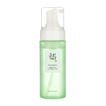 Beauty of Joseon – Bubble Toner Green Plum + AHA k beauty