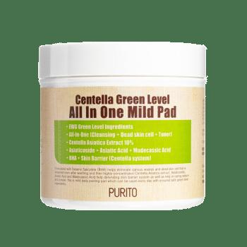 PURITO – Centella Green Level All in One Mild Pad k beauty