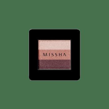 MiSSHA – Triple Shadow #05 Vintage Plum k beauty