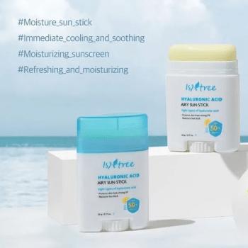 Isntree – Hyaluronic Acid Airy Sun Stick SPF50+ PA++++ k beauty
