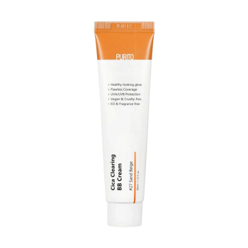Purito – Cica Clearing BB cream SPF38/PA+++ (#27 Sand Beige) k beauty