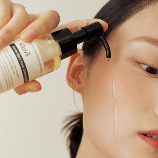 Klairs – Gentle Black Fresh Cleansing Oil k beauty