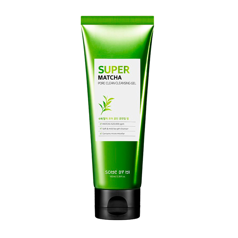 Some By Mi – Super Matcha Pore Clean Cleansing Gel k beauty