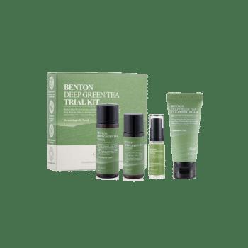 Benton – Deep Green Tea Trial Kit k beauty