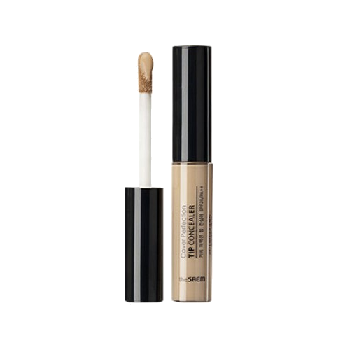 The Saem – Cover Perfection Tip Concealer SPF28 PA++ (#02 Rich Beige) k beauty