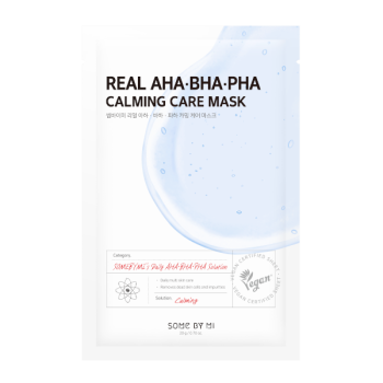 Some By Mi – Real AHA BHA PHA Calming Care Mask k beauty