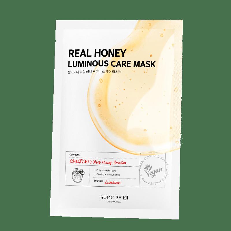 Some By Mi – Real Honey Luminous Care Mask k beauty