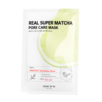 Some By Mi – Real Super Matcha Pore Care Mask k beauty