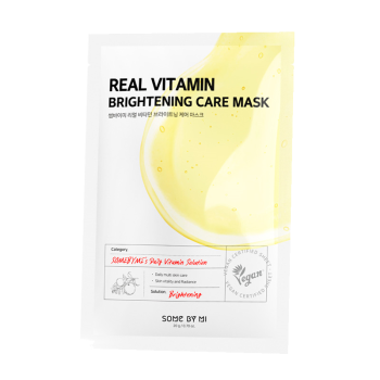 Some By Mi – Real Vitamin Brightening Care Mask k beauty